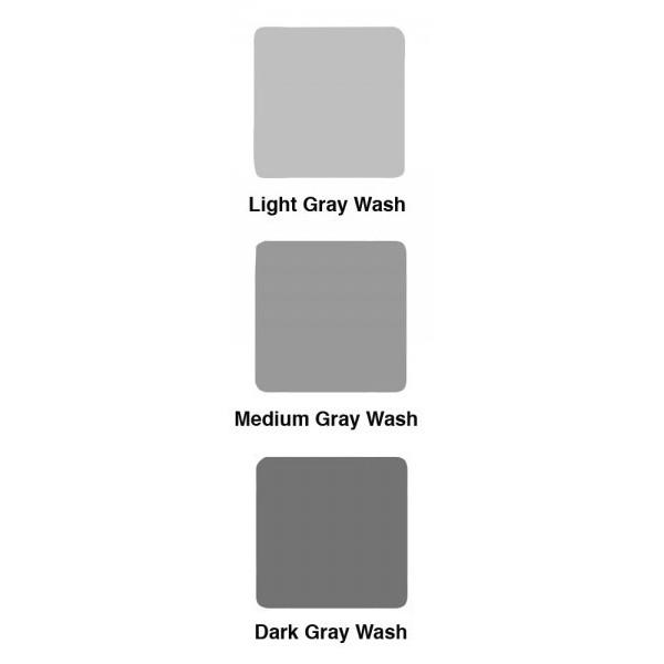 Gray Wash 3er Set 4 oz