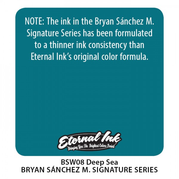 Bryan Sánchez M. Watercolor - Deep Sea 1 oz (Soon...