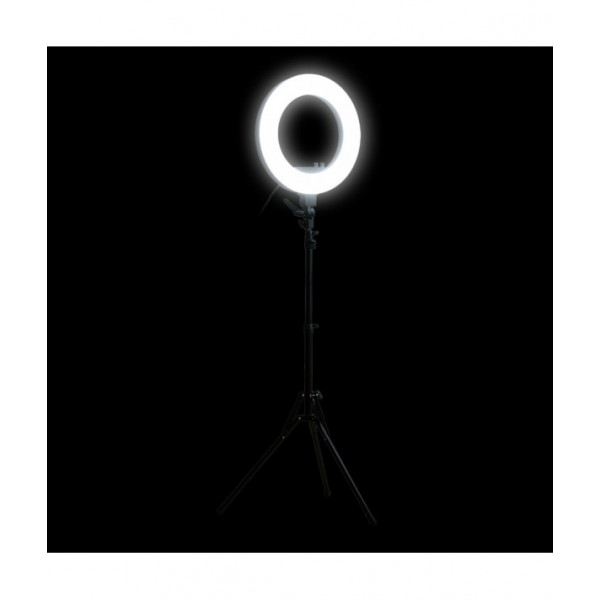 Ringlamp ⌀46cm LED, adjustable light intensity a...