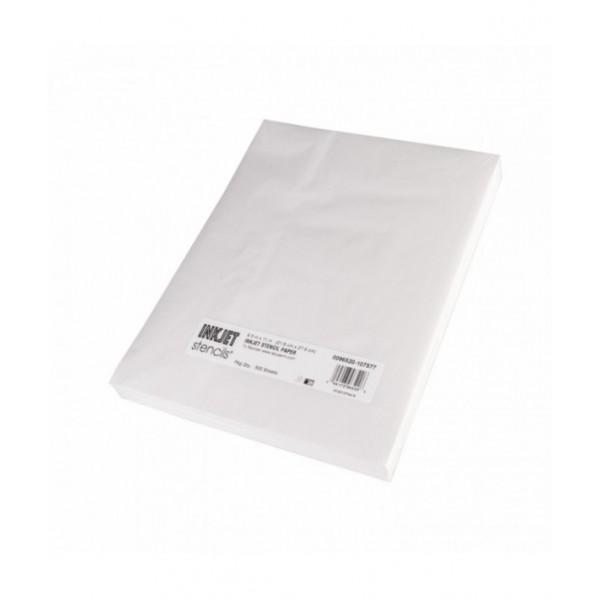 InkJet Stencils - Stencil Paper - 500 sheets