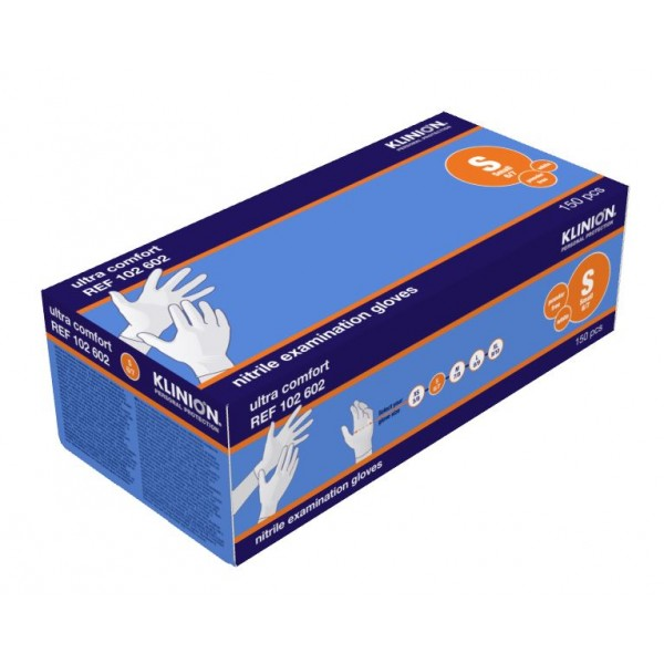 S Nitrile Gloves Klinion Sensitive 150PCS