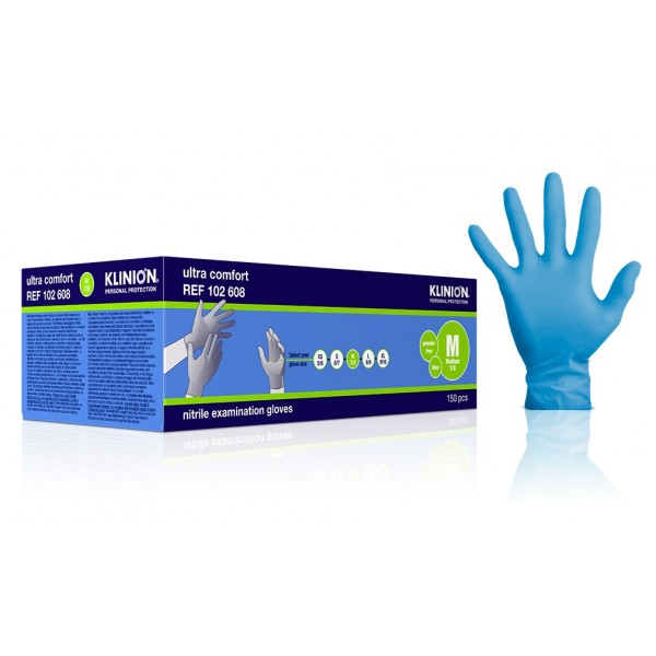 M Nitril Gloves Klinion Ultra Comfort 150PCS