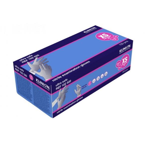 XS Nitrile Gloves Klinion Sensitive 150PCS