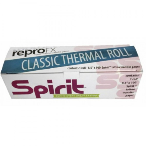 Spirit Stencil Thermal Paper roll 30m