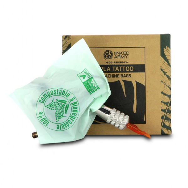 Inked Army Biodegradeable Machine Bags 13x14cm 100...